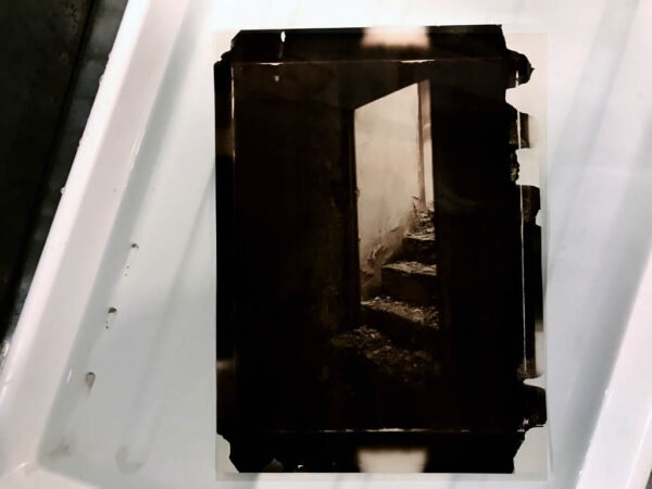 Learning the wet plate collodion technique is a difficult process, since there are several variables to take into account and nothing can be neglected or set aside. The entire process, from cleaning the glass to applying the varnish needs conistent methods that are decisive for a good results. This workshop is intended for the beginner specifically interested in making wet plate collodion negatives suitable for alternative processes printing such as salt paper of albumen paper, giving you a new powerfull and creative tools to be used as a genuine artistic expression. It will covers all the chemichal principles and technical aspects of the wet plate collodion negative process and salt printing process. By the end you will be confident in managing the not so simple art of this processes 7